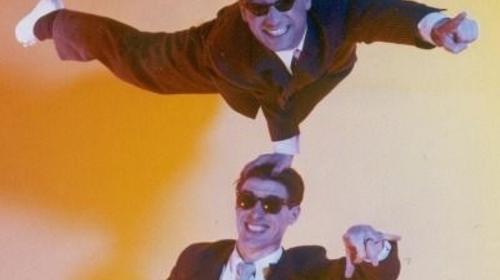 Comedy Akrobatik mit Tébé & Leiste