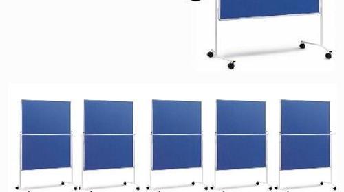 10´er Pinnwand / Moderationstafel im Set