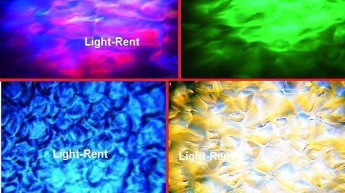 Wassereffekt / Wasserprojektion / Wasser Projektor