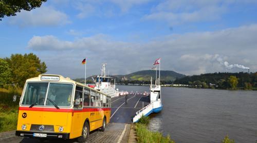 Oldtimer-Busfahrten im Rheinland Schwyzer Poschti