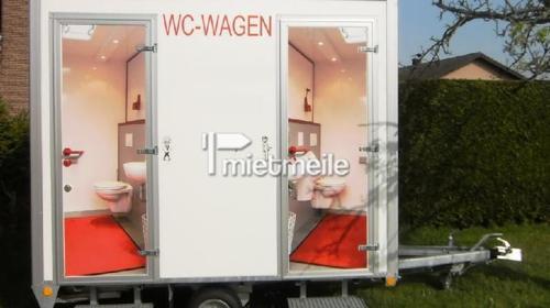 Exklusiver Toilettenwagen für Partys, etc...