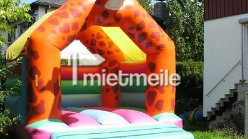 Hüpfburg Giraffe 4x5m