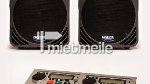Party PA Mixer mit Laptopanschluss und Doppel Cd