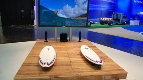 Multimedia Surf Simulator mit Software Branding!!! (Surfsimulator )
