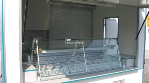 Verkaufsanhänger mit Kühltheke