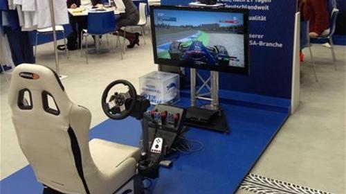 Rennsitzsimulator, Rennsimulator, Truck Racing Simulator,
