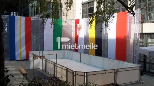 mobile Kunsteisbahn, Eisbahn, Schlittschuhbahn, Kunststoff Eisbahn in allen Größen !!!