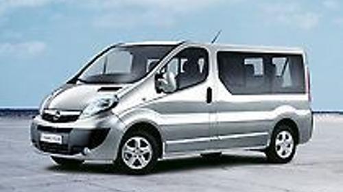 Mietwagen (Bus 9-Sitzer) Vivaro, Vito o. ähnlich
