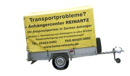 Planenanhänger mieten & vermieten - Pkw-Anhänger mit Plane in Langerwehe