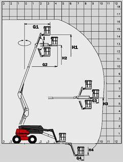 Teleskopbühnen mieten & vermieten - Selbstfahrende Bühnen / 165 ATJ - Dieselantrieb in Waltrop