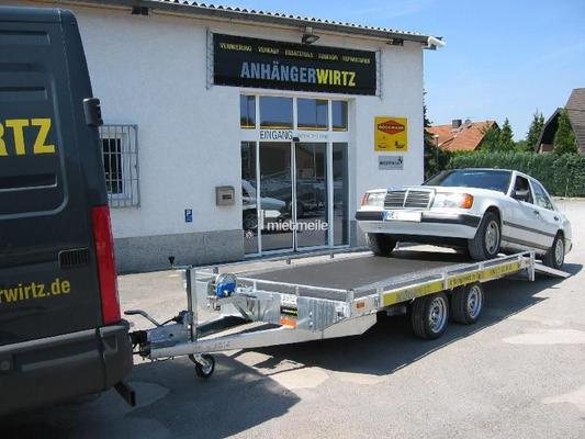 Autoanhänger mieten & vermieten - KFZ Transporter/Transportanhänger 4m 2.700kg in Grevenbroich