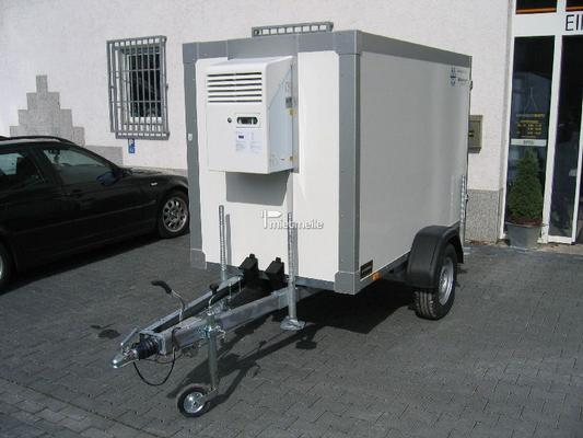 Kühlanhänger mieten & vermieten - Kühlkoffer 2,40m +2°C / 220Volt, abschließbar in Grevenbroich