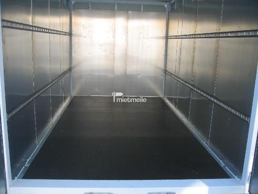 Kofferanhänger mieten & vermieten - Kofferanhänger Pritsche 4m, verstellbare Deichsel in Grevenbroich