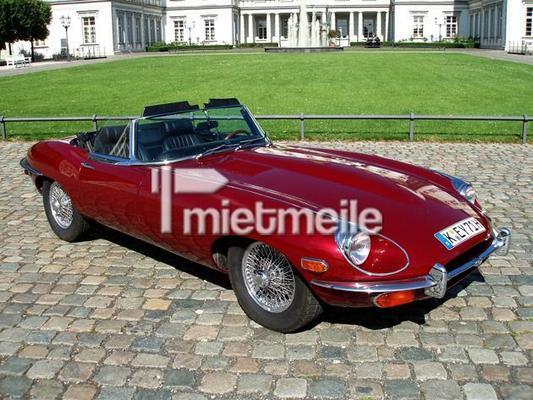 Oldtimer mieten & vermieten - Jaguar E-Type S2 Roadster in Köln