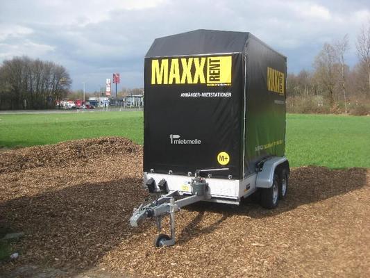 Planenanhänger mieten & vermieten - Planenanhänger - absenkbarer Tieflader 3m in Grevenbroich