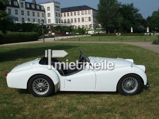 Oldtimer mieten & vermieten - Triumph TR3 in Köln