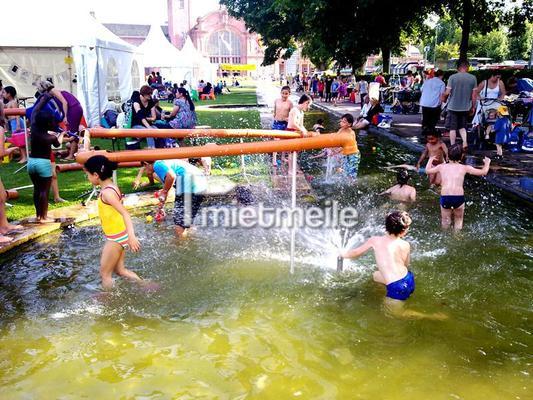 Wasserspiele mieten & vermieten - Wasserbaustelle in Idstein