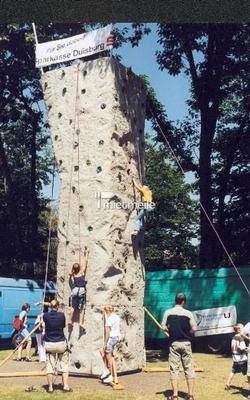 Kletterwand mieten & vermieten - Klettern wie die Profis, aber ganz sicher ! in Bottrop
