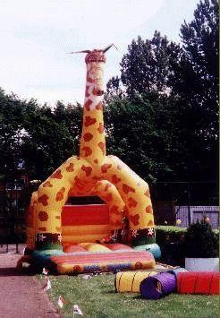 Hüpfburg mieten & vermieten - Hüpfburg Giraffe in Dortmund