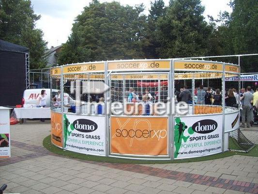 Fußball mieten & vermieten - Soccer Cage | Panna Court | mit/ohne Kunstrasen in Saarbrücken