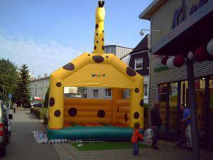 Hüpfburg mieten & vermieten - Hüpfburg, Springburg Giraffe in Remscheid