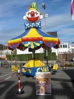"""Karussell mieten & vermieten - Vermietung Karusselle - """"Kettenkarussell Clown"""" in Alsbach-Hähnlein"""