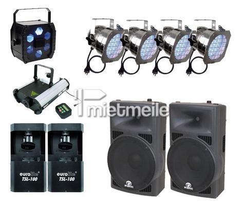 DJ mieten & vermieten - DJ mit Licht- und Soundanlage für Hochzeiten in Ismaning