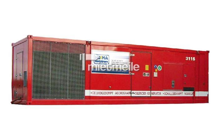 Stromgenerator mieten & vermieten - Stromerzeuger 1.500 kVA in Berlin