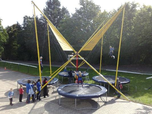 Bungee mieten & vermieten - 4 in 1 Bungee-Trampolin mieten in Schwerin