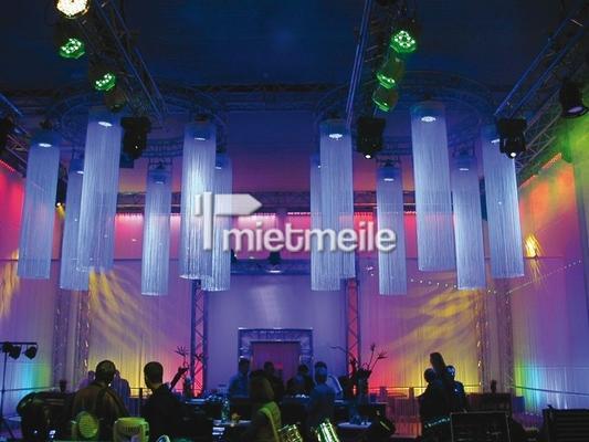 Leuchten & Lampen mieten & vermieten - Fadenvorhang 4m mit Halterung in Chemnitz