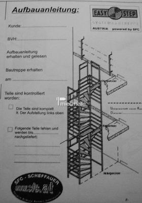 Gerüst mieten & vermieten - Easy Step Bautreppen / Rohbautreppe in Gröbenzell