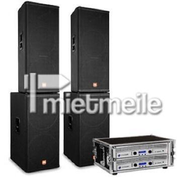 Musikanlage mieten & vermieten - Musikanlage JBL MRX6  3.600 Watt in Steinfurt