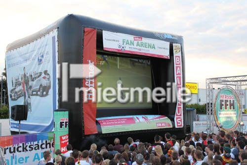 Leinwand mieten & vermieten - Großbildleinwand für Tageslichtprojektion in Giebelstadt