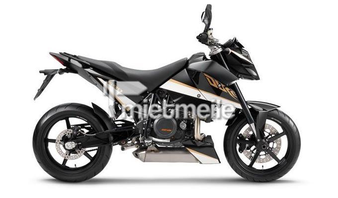Motorrad mieten & vermieten - KTM DUKE 690  in Rochlitz