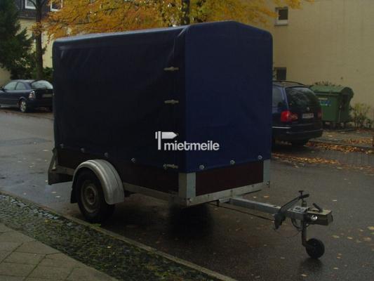 Planenanhänger mieten & vermieten - Anhänger mit Plane , gebremst , 1300 kg in Bochum