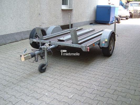 Motorradanhänger mieten & vermieten - Motorradanhänger für 2 Maschinen gebremst in Bochum