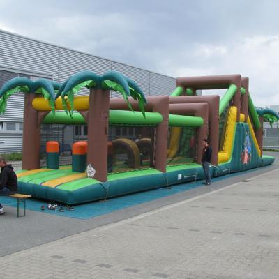 Parcours mieten & vermieten - Hüpfburg Dschungel Parcours in Hannover