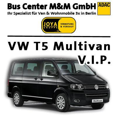 VW mieten & vermieten - 7 sitzer Van,VIP Ausstattung, VW Multivan Highline in Berlin