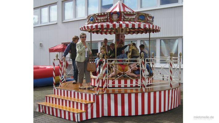 Karussell mieten & vermieten - Nostalgie Kinderkarussell in Hannover