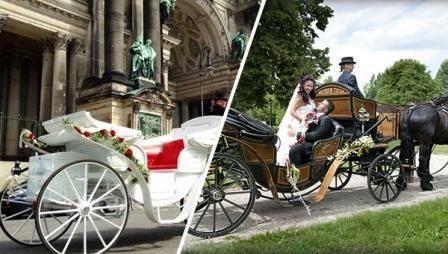 Hochzeitskutsche mieten & vermieten - Exklusive Hochzeitskutschen für Mitteldeutschland in Petersberg