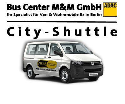 VW mieten & vermieten - Transporter VW T5  9-sitzer Shuttle in Berlin
