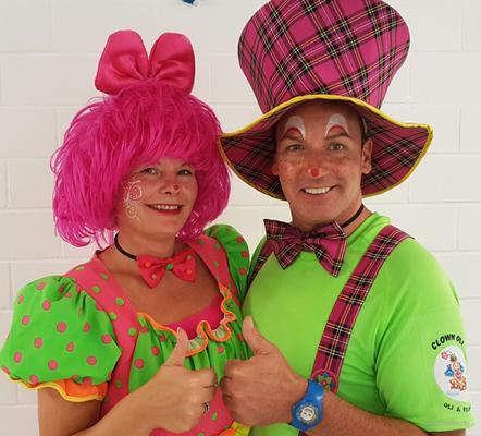 Clown mieten & vermieten - Clown Oli & Felinchen in Oberhausen