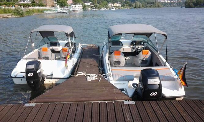 Motorboote mieten & vermieten - Boot mieten an der Mosel in Güls bei Koblenz in Weitefeld