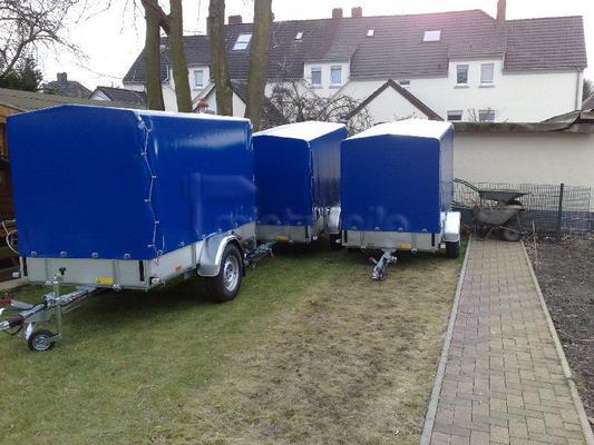 Planenanhänger mieten & vermieten - Pkw Anhänger Mieten ab 15 €  in Gelsenkirchen Buer in Herten