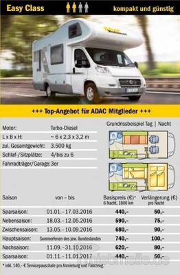 Wohnmobile mieten & vermieten - Wohnmobilvermietung *Fiat Knaus Sky Traveler 500D* in Berlin