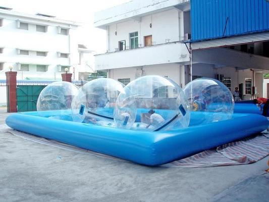 Wasserspiele mieten & vermieten - Wasserball-Walk / Wasserbälle / 4 Bälle in Bottrop