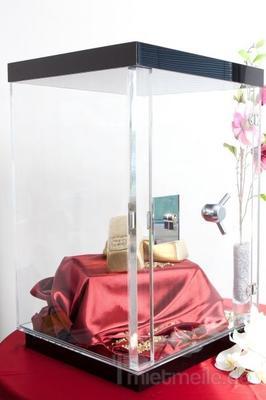 Gewinnspiele mieten & vermieten - Plexiglas Tresor, Glastresor, Gläserner Tresor in Kiel