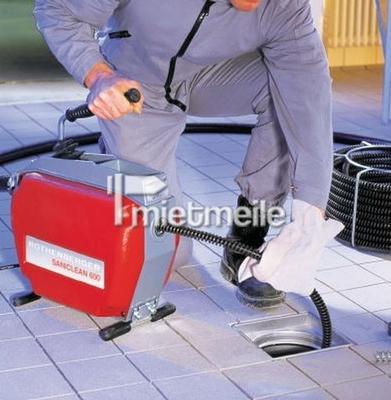 Rohrreinigungsmaschine Elektrisch Mieten 62 00 Eur Pro Tag