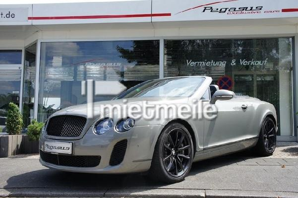 Bentley mieten & vermieten - Bentley Continental GTC Supersports mieten in Mönchengladbach