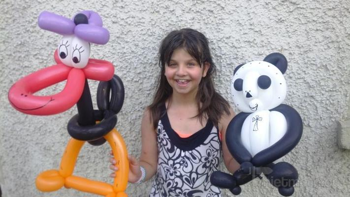 Ballonkünstler mieten & vermieten - Minni Mouse, Luftballon Figuren & Kinderprogramm, Clown, Zauberer, Kinderdisco, Kinder Party, Ballontiere, Hüpfburg, Torwand, Glücksrad, Ballonzauberer, Ballon modellage, Party Diskothek, Musik & Tanz in Herbertingen